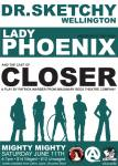 Lady Phoenix and the cast of Closer blend together in a fascinating tangle of theatre, intrigue and desire. lady Phoenix brings her Hula Hoops up from Christchurch and the cast of Closer bring snippets of their upcoming show.
