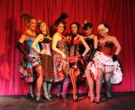 CanCan! Wellington's top Can-Can troupe The Rouge Rogues performed and modelled for Dr. Sketchy Wellington on the 10th of October 09. Photo by Raymond Massa. It was soooo Awesome