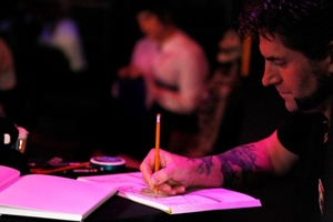 Sketching - DSK - Photo by Jason R. Scott