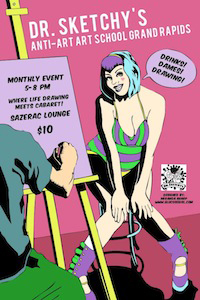 Dr. Sketchy's Grand Rapids