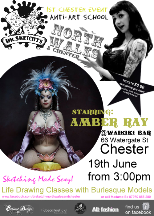 Amber Ray comes to Chester!