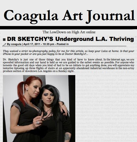 Coagula Art Journal