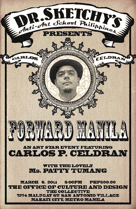 Forward Manila with Carlos Celdran