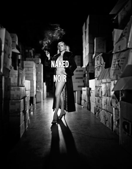 Poster for Naked Noir by Mark Berry